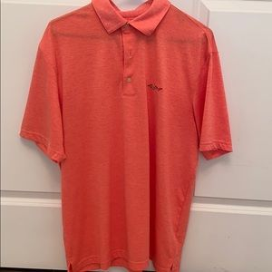 Greg Norman Coral Polo, Size Large
